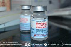 Pemberian Vaksinasi Dosis ke-3 Bagi Tenaga Kesehatan di RSUD Sawahlunto